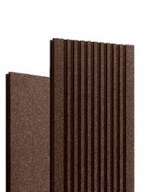 Террасная доска дпк полнотелая TERRADECK MASSIVE 2.0 (Россия) цвет коричневый