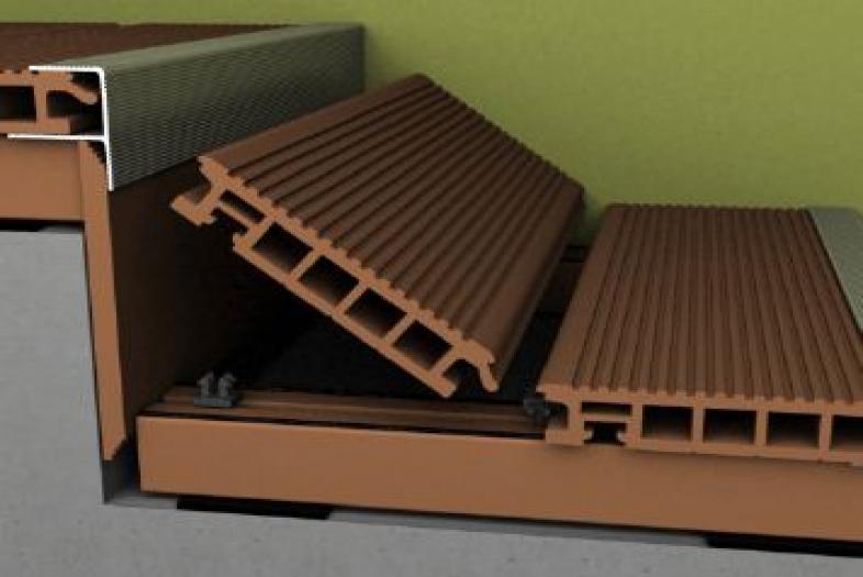 Ступени для крыльца и лестниц из террасной доски