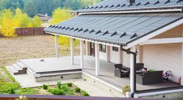 Терраса для загородного дома Show Home
